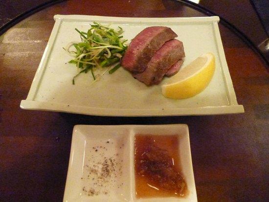 Bella Vista Spa & Marina Onomichi: beef japanese