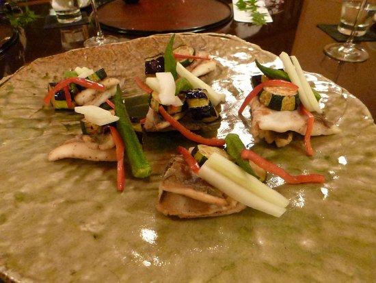 Bella Vista Spa & Marina Onomichi: japanese dinner