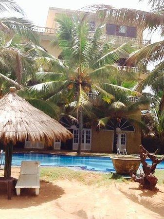 Royal Beach Resort: back of the hotel