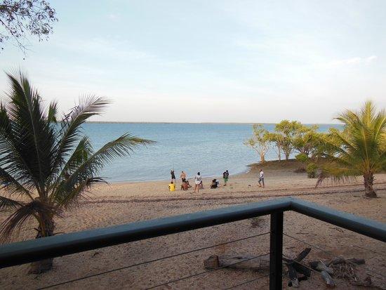 كراب كلو آيلاند: view from balcony