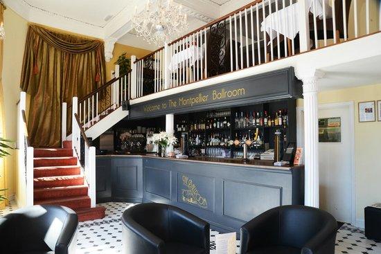 Balcony dining picture of the ballroom cheltenham for Restaurants with balcony