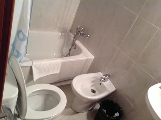 Hostal Sonsoles: toilette