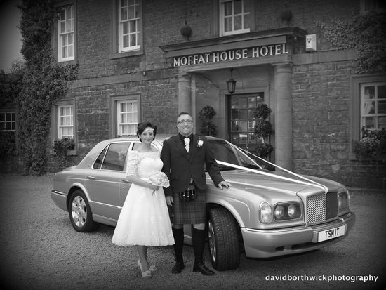 BEST WESTERN Moffat House Hotel: Glenn & Philipa,s wedding.Moffat House Hotel