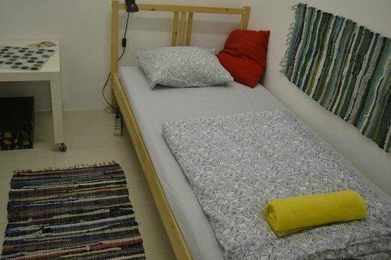 Art Hostel Suitcase: Комната для одного