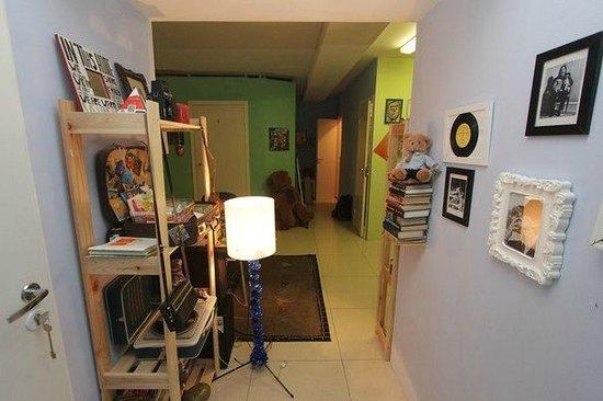 Art Hostel Suitcase: Общая зона