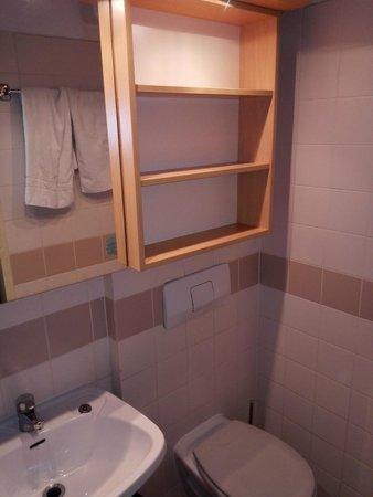 Sommerhotel Wieden: baño