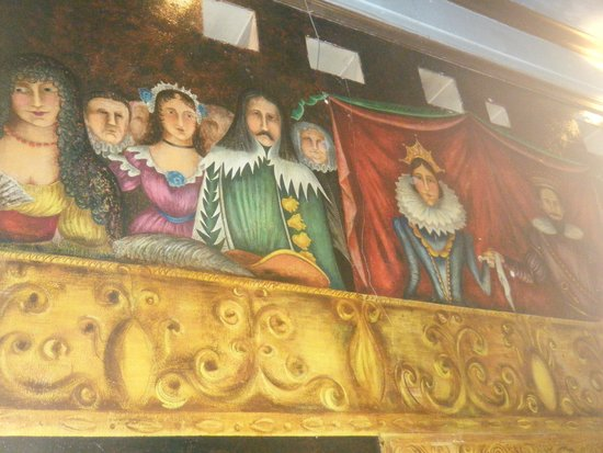 Amargosa Opera House and Hotel : murals in the opera house