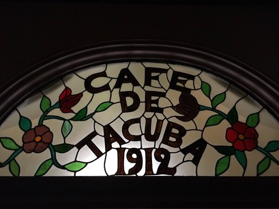 ‪‪Cafe de Tacuba‬: Stained Glass Doorway‬
