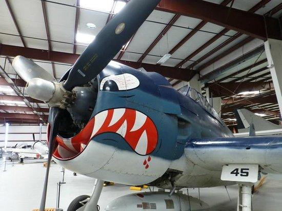 Yanks Air Museum: La bouche ouverte