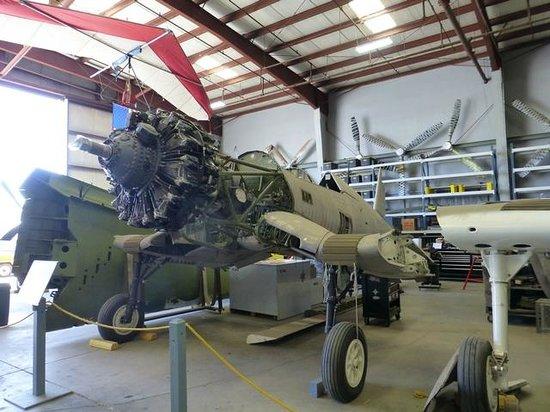 Yanks Air Museum: Corsair