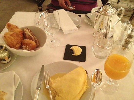 Le Meurice: le petit déjeuner