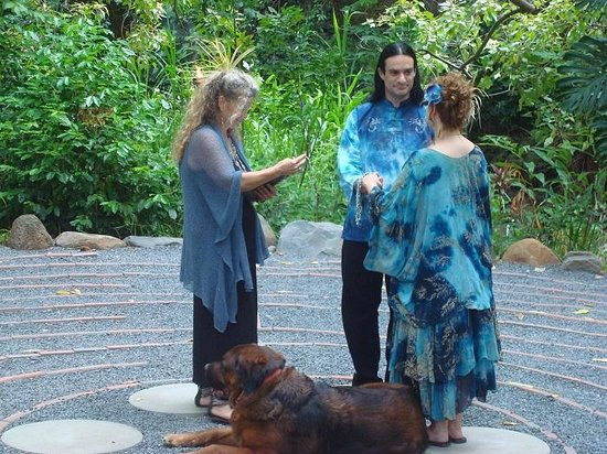 The Sacred Garden Of Maliko: Vow Renewal On The Labyrinth