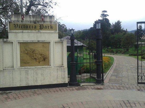Victoria Park of Nuwara Eliya: Entrance