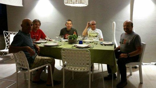 Enjoy Garda Hotel: outside dining