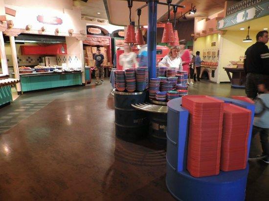 Disney's Hotel Santa Fe: Bom pequeno-almoço
