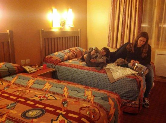Disney's Hotel Santa Fe: Quarto confortável
