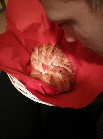 Hôtel de la Mare : i croissant della mattina