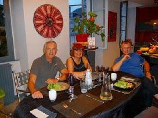 Onigourmand : Marie-Jo et ses hôtes