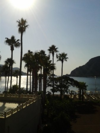 Sea Star Marmaris: View from side sea view room.