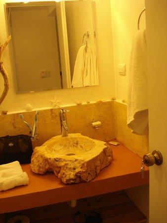 Bungalows Natura Village: Bathroom