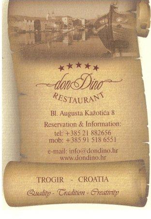 Restaurant Don Dino: Don Dino