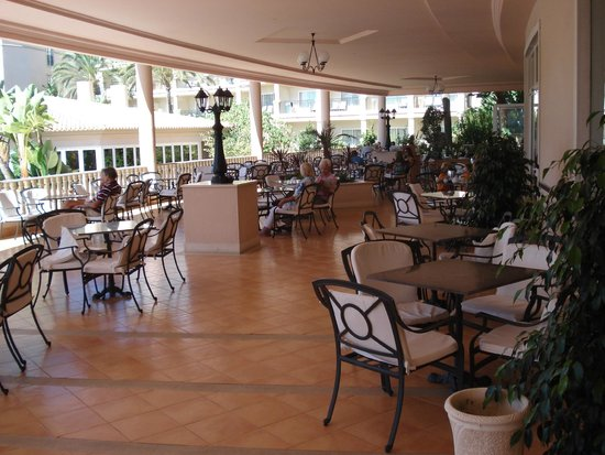 TUI BLUE Falesia: terrasse bar/restaurant