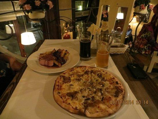Trattoria Soprano: our meals last evening