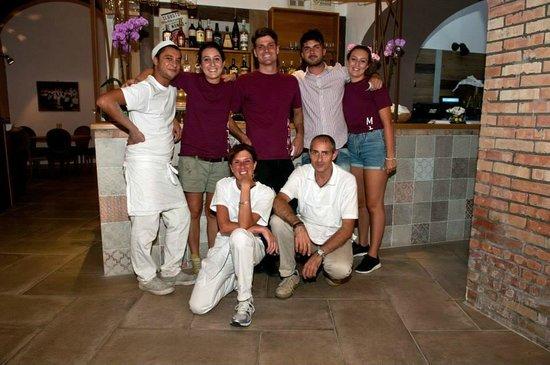 Mimì Ristorante Pizzeria: Our staff