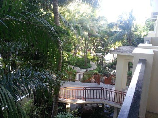 Horizon Karon Beach Resort & Spa: View from our balcony