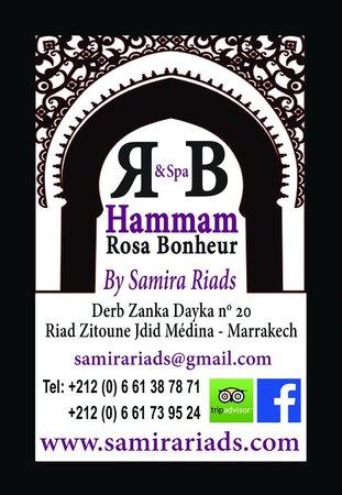 رياض ريف دورينت: Hammam rosa bonheur