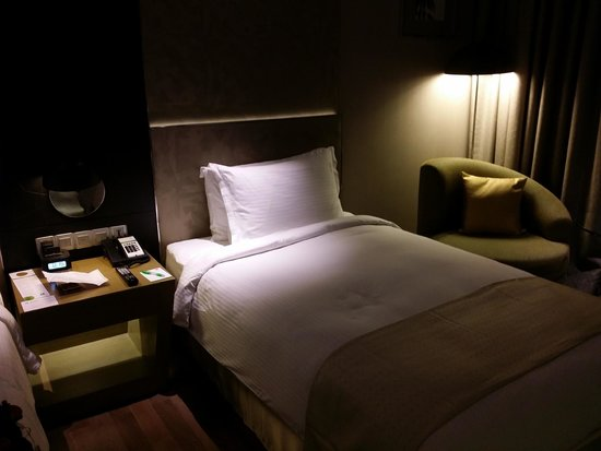 فندق هوليداي إن نيودلهي إنترناشونال آيربورت: Un lit simple