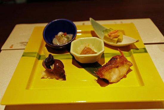 Akakura Kanko Hotel: 夕食