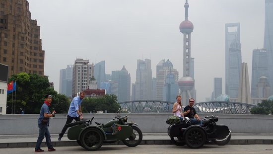 Insiders-Shanghai Private One-day Tour: Brillant side-car experience in Shanghai