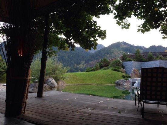 Hotel Jungbrunn - Das Alpine Lifestyle Hotel: Aussenteich