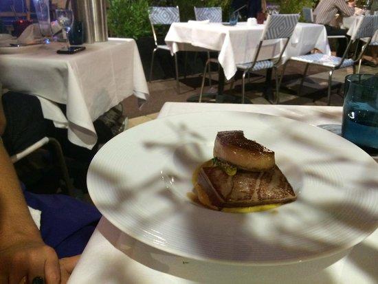 Le Relais 50: Thon et foie gras. Audacieux!