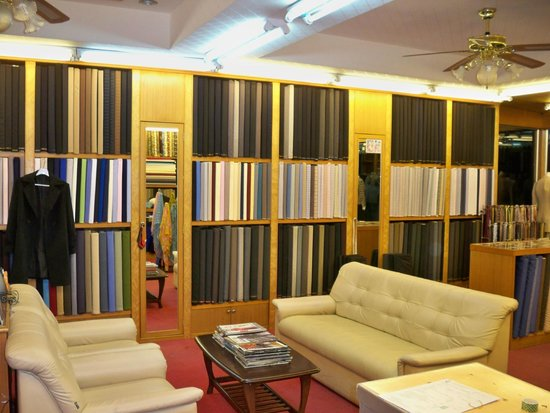 Aman Tailor Surin Beach: Materials