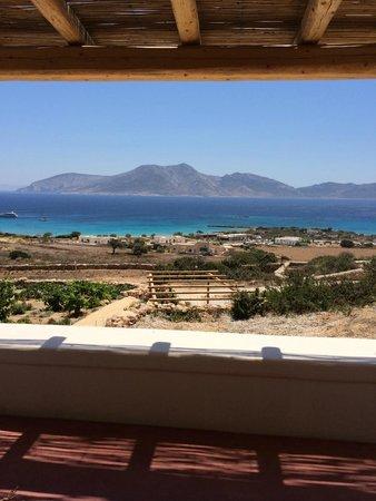 Pambelos Lodge: vista dal terazzo