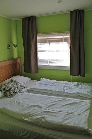 GreenYacht Hotel: Unser kleines Romantikzimmer