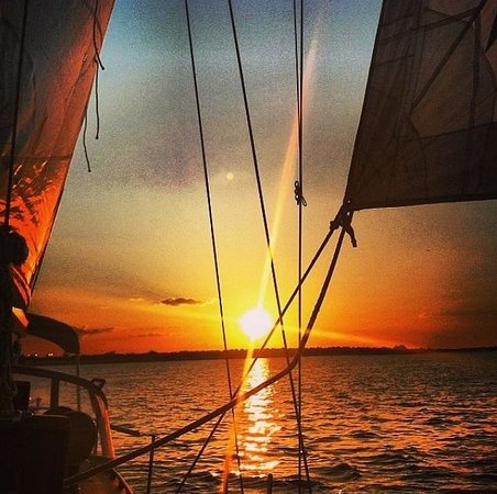 Black Watch Sailing Charters: Sailing off into the sunset