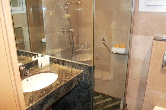 كانيليس بلاتيا: Salle de bain
