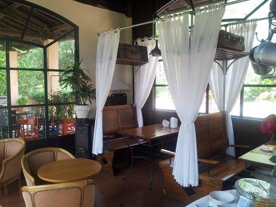 Albergo Ristorante La Macchia: Sala colazione / breakfast room