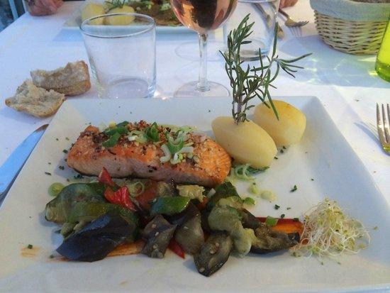 Restaurant la Nautique : Plat