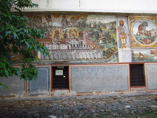 Bachkovo Monastery : Painted wall