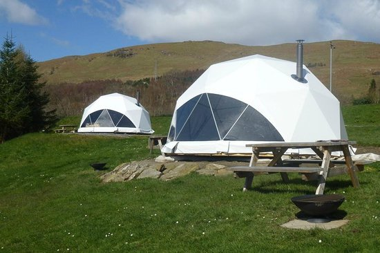 Loch Tay Highland Lodges: Glamping Dome