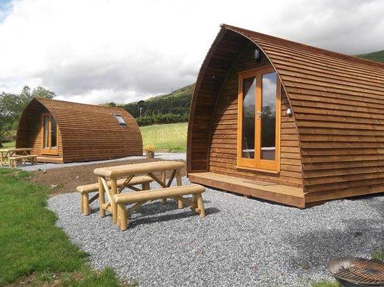Loch Tay Highland Lodges: Premium Wigwam