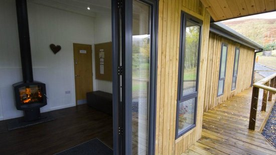 Loch Tay Highland Lodges: Shared Bathroom Facilities - Wigwams and Domes