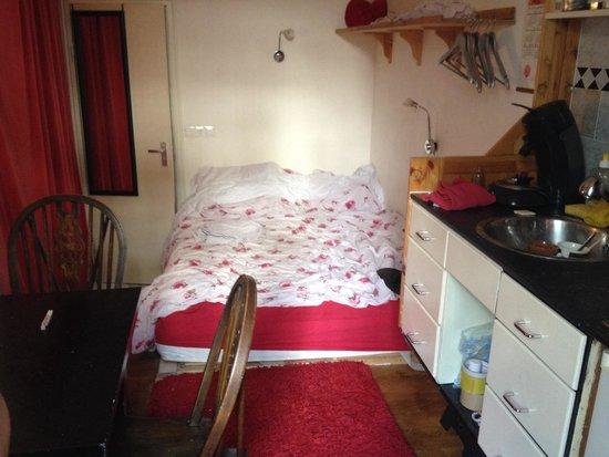 Annette's B&B: Room lauren gran bella stanza con riscaldamento.