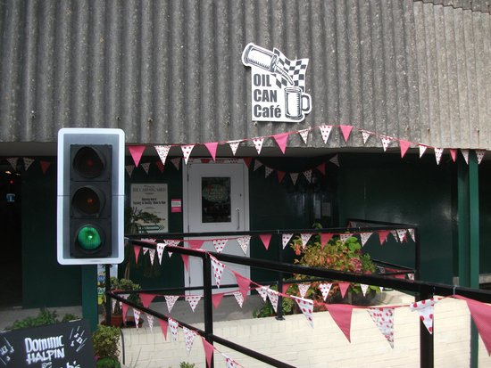 The Carding Shed: Entrance