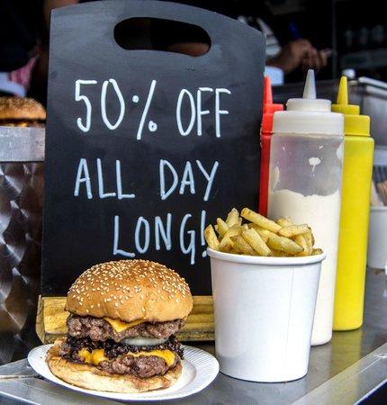 Photo of American Restaurant Bleecker St. at Old Spitalfields Market, London E1 6EA, United Kingdom