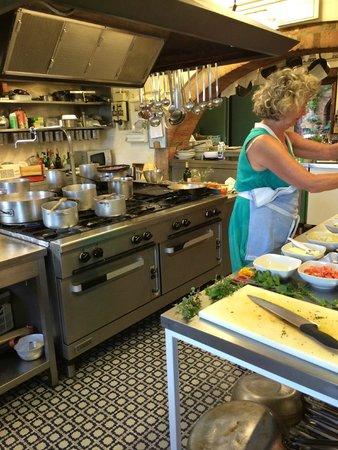 La Chiusa Restaurant: Kochkurs bei Dania